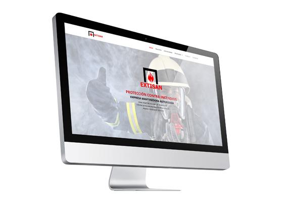 Página Web Catálogo EXTISAN