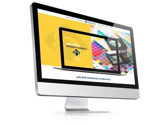 Página Web Corporativa Iberprint Artes Gráficas