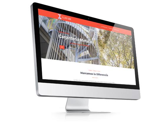 Página Web Corporativa Talleres Girón