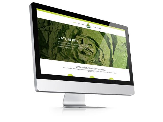 Web Corporativa Naturfrex